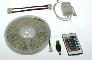 LED-Lichtband 290 Lumen 12V DC RGB 72W dimmbar DC-kompatibel