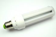 E27 LED-Tubular 1300 Lm. 230V AC/DC warmweiss 15W schmale Bauform DC-kompatibel