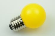 E27 LED-Globe LB45 100 Lm. 230V AC Gelb 1W