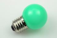 E27 LED-Globe LB45 65 Lm. 230V AC grün 1W