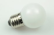E27 LED-Globe LB45 90 Lm. 230V AC Amber 1W
