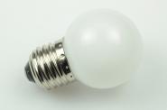 E27 LED-Globe LB45 100 Lm. 230V AC kaltweiss 1W matt