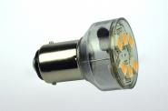 BA15D LED-Bajonettsockellampe 120 Lm. 12V AC/DC kaltweiss 1W dimmbar DC-kompatibel