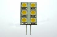 G4 LED-Modul 100 Lm. 12V AC/DC warmweiss 1W eckige Form DC-kompatibel