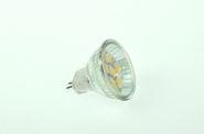 GU4 LED-Bajonettsockellampe 100 Lm. 12V AC/DC warmweiss 1W dimmbar DC-kompatibel