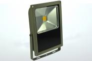 LED-Flutlichtstrahler 4860 Lumen 230V AC/DC warmweiss 70W flache Bauweise, DC-kompatibel