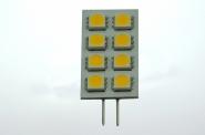 G4 LED-Modul 120 Lm. 12V AC/DC warmweiss 1,3W eckige Form DC-kompatibel