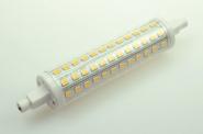 R7S LED-Stablampe 900 Lm. 230V AC warmweiss 10 W rundabstrahlend, kleine Bauform DC-kompatibel