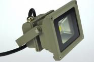 LED-Flutlichtstrahler 230V AC grün 12W
