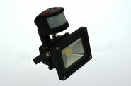 LED-Flutlichtstrahler 660 Lumen 230V AC kaltweiss 10W