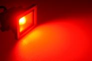 LED-Flutlichtstrahler 230V AC rot 12W