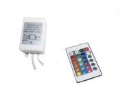 RGB- Controller für Lichtbänder DC 12 bis 24V
