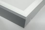 Aluminium Rahmen für LED-Panel 120x30cm
