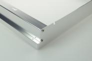 Aluminium Rahmen für LED-Panel 124x62cm