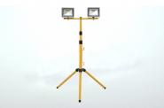 Stativ für 2x30W Flutlichtstrahler