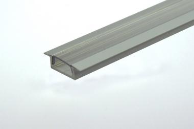 Aluprofil 1000mm x 19mm x 19mm, für 6-10mm Lichtbänder, Eckleiste