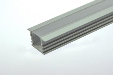 Aluprofil 1000mm x 22mm x 6mm, für 6-10mm Lichtbänder