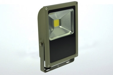 LED-Flutlichtstrahler 1130 Lumen 230V AC/DC kaltweiss 15W flache Bauweise DC-kompatibel