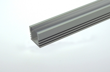 Aluprofil 1500mm x 15mm x 6mm, für 6-10mm Lichtbänder