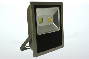 LED-Flutlichtstrahler 12110 Lumen 230V AC/DC kaltweiss 150W flache Bauweise DC-kompatibel