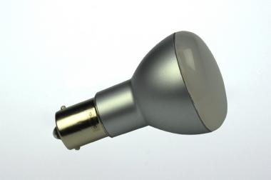 BA15S LED-Bajonettsockellampe 200 Lm. 12V AC/DC warmweiss 2,2W dimmbar DC-kompatibel