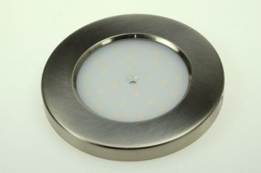 LED-Aufbauleuchte 240 Lumen 12V DC warmweiss 3 W Schalter, integrierter Dimmer DC-kompatibel