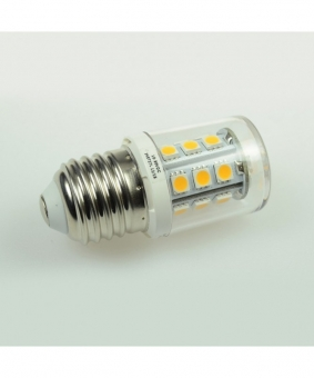 E27 LED-Tubular 250 Lm. 12V AC/DC warmweiss 2 W dimmbar DC-kompatibel
