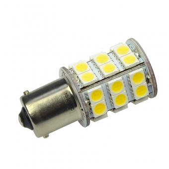 BA15S LED-Bajonettsockellampe 350 Lm. 12V AC/DC warmweiss 3 W DC-kompatibel