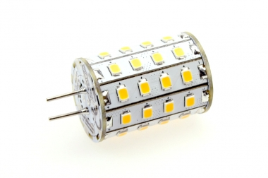 GY6.35 LED-Stiftsockellampe 550 Lm. 12V AC/DC warmweiss 4,8 W dimmbar DC-kompatibel