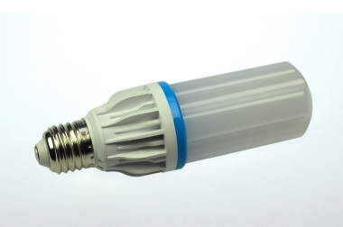 E27 LED-Tubular 700 Lm. 230V AC/DC warmweiss 9W DC-kompatibel