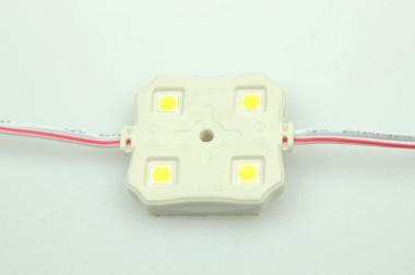 LED-Chipmodul 100 Lumen 12V DC kaltweiss 1W dimmbar DC-kompatibel
