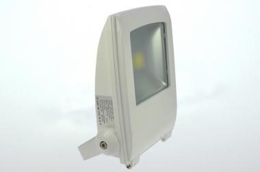 LED-Flutlichtstrahler 4500 Lumen 230V AC kaltweiss 50W Strukturiertes Glas