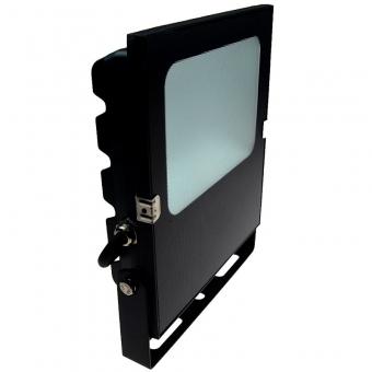 LED-Flutlichtstrahler 5500 Lumen 12V DC warmeiss 50W flache Bauweise DC-kompatibel