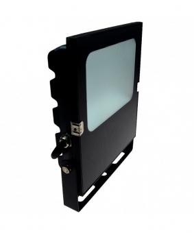 LED-Flutlichtstrahler 5500 Lumen 12V DC kaltweiss 50W flache Bauweise DC-kompatibel