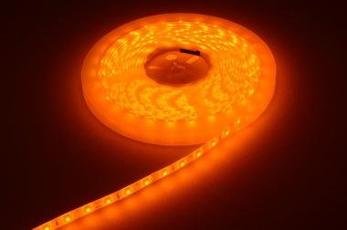 LED-Lichtband 12V DC Amber 24W dimmbar DC-kompatibel