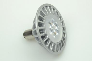 BA15D LED-Bajonettsockellampe AR70 500 Lm. 12V AC/DC warmweiss 7W dimmbar DC-kompatibel