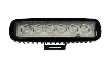 LED-Suchscheinwerfer 1000 Lumen 12V DC kaltweiss 14W IP67 DC-kompatibel