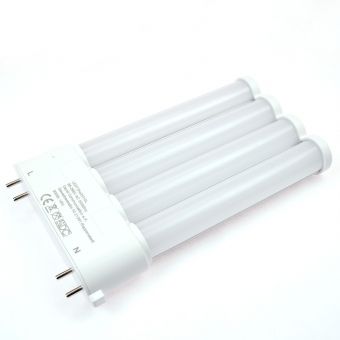 2G10 LED-Kompaktlampe 1500 Lm. 230V AC neutralweiss 15 W internes Netzteil