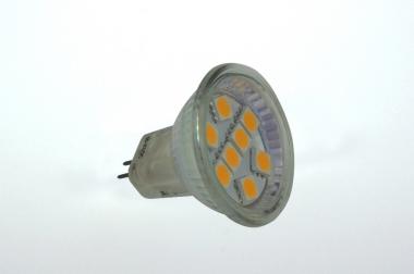 GU4 LED-Spot MR11 125 Lm. 12V AC/DC warmweiss 1,3 W DC-kompatibel