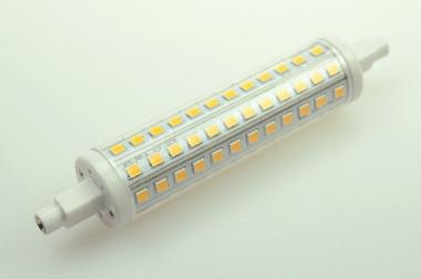 R7S LED-Stablampe 800 Lm. 230V AC warmweiss 10 W rundabstrahlend, dimmbar