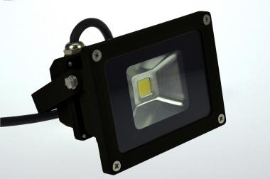 LED-Flutlichtstrahler 660 Lumen 230V AC/DC kaltweiss 12W DC-kompatibel