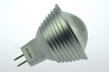 GU5.3 LED-Spot PAR16 300 Lm. 12V AC/DC kaltweiss 4,8W dimmbar DC-kompatibel