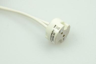 LED-Anschlussfassung für G4-GY6.35 Leuchtmittel, weiß
