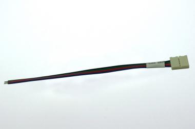 Anschlusskabel 15 cm mit Steckverbinder für 10mm-RGB-Bänder