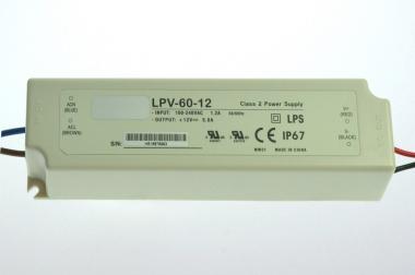 12V Tischnetzteil für Lichtleisten 60W