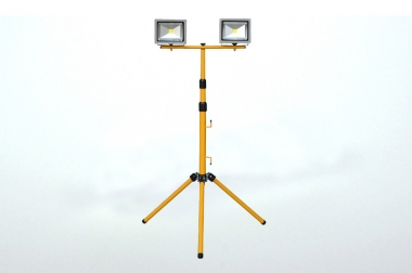 Stativ für 2x20W Flutlichtstrahler