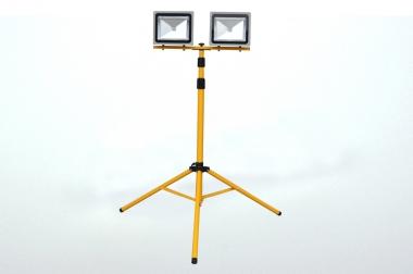 Stativ für 2x50W Flutlichtstrahler