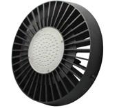 LED-Hallentiefstrahler 9800 Lumen 230V AC/DC kaltweiss 100W Toshiba LED DC-kompatibel