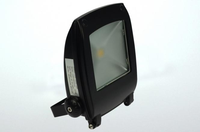 Design LED-Flutlichtstrahler 900 Lumen 230V AC kaltweiss 11W Strukturiertes Glas