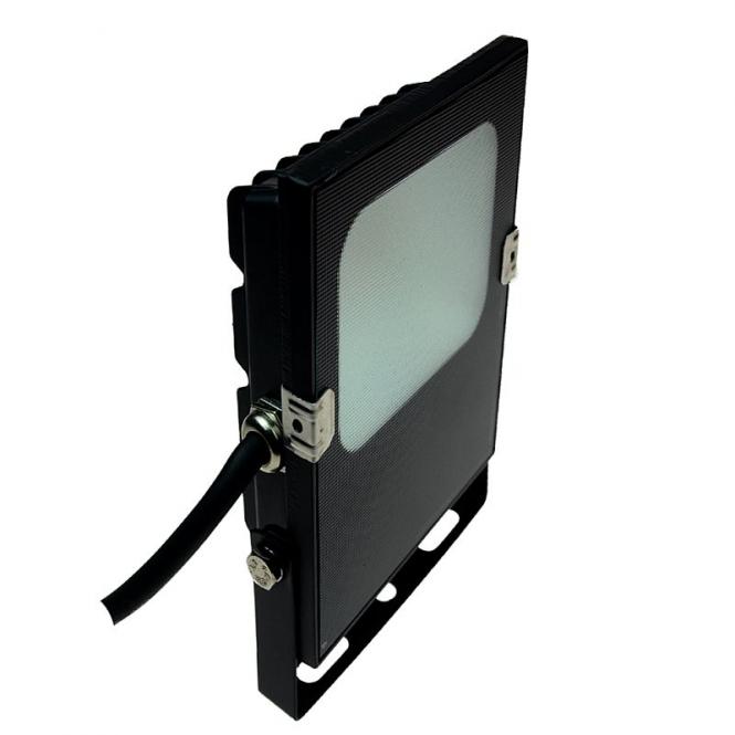 LED-Flutlichtstrahler 1100 Lumen 12V DC warmweiss 10W flache Bauweise DC-kompatibel